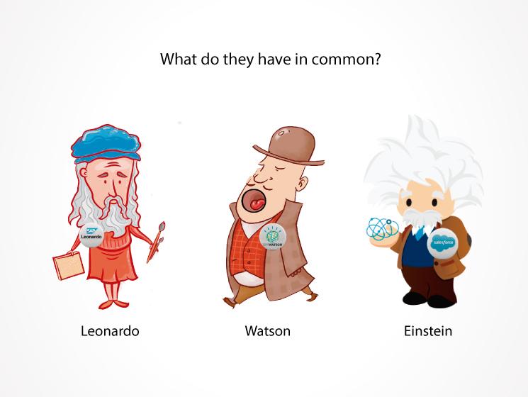 Leonardo, Watson y Einstein. ¿Qué tienen en común?
